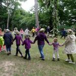 Tanz um die Mittsommerstange