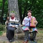 Unsere Musikanten: Adelheid Neumann und Viktor Schneider
