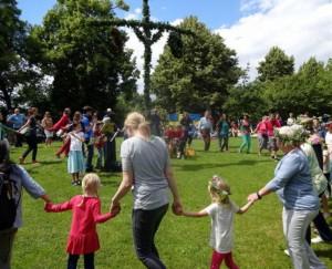 Schwedisches Mittsommerfest @ Northampton-Park | Marburg | Hessen | Deutschland