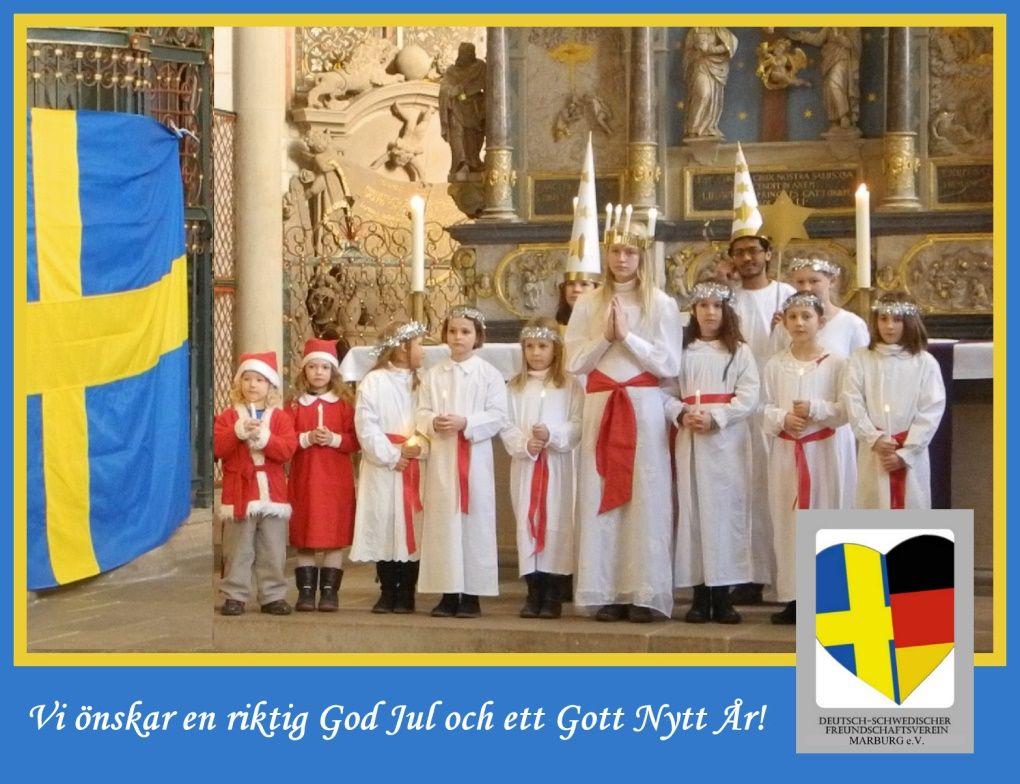 Schwedisches Luciafest 2017 @ Lutherische Pfarrkirche St. Marien und Mehrgenerationenhaus | Marburg | Hessen | Deutschland