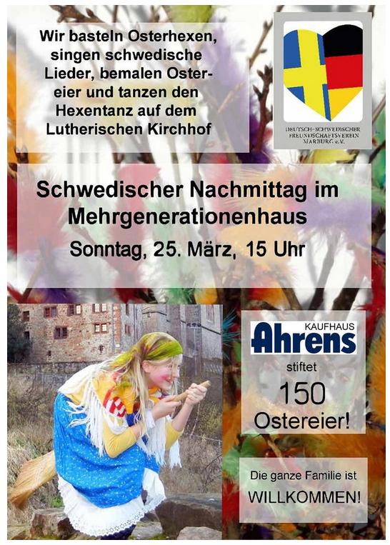 Schwedisches Osterfest im MGH @ Mehrgenerationenhaus | Marburg | Hessen | Deutschland