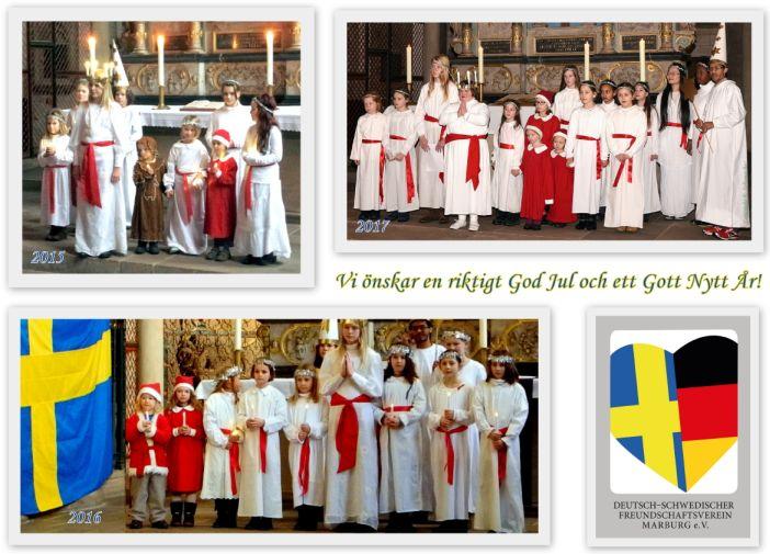 Schwedisches Luciafest 2018 @ Lutherische Pfarrkirche St. Marien und Mehrgenerationenhaus | Marburg | Hessen | Deutschland