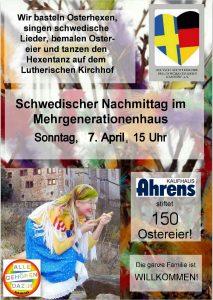 Schwedisches Ostercafé im MGH (7. April 2019) @ Mehrgenerationenhaus
